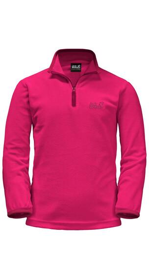 Jack Wolfskin Gecko Pullover Kids pink raspberry